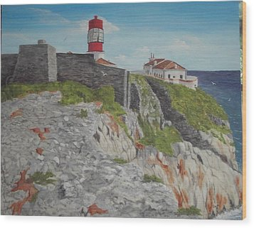 Sagres Portugal Wood Print by Hilda and Jose Garrancho
