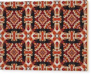 Sahara Wood Print by Charmaine Zoe
