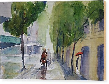 Saigon 1967 Tu Do Street Wood Print
