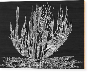 Sail Away Wood Print by Charles Cater