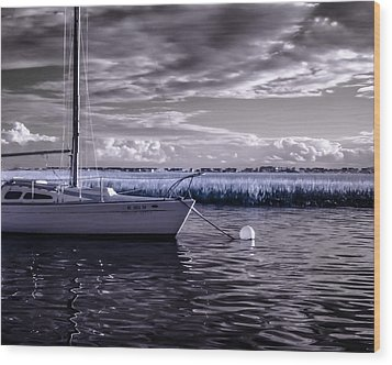 Sailboat 04 Wood Print