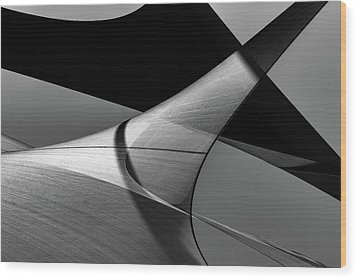 Wood Print featuring the photograph Sailcloth 197 by Bob Orsillo