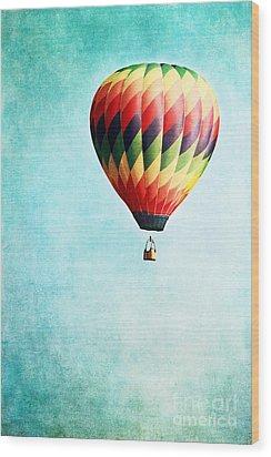 Sailing Wood Print by Stephanie Frey