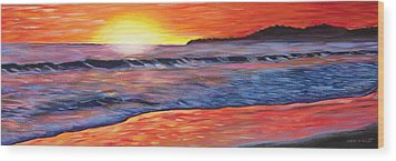 Sailor's Delight Wood Print by Anne West
