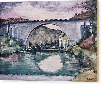 Saint Bridge Wood Print