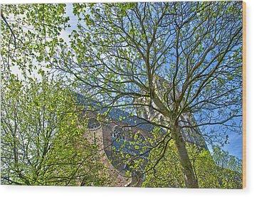 Saint Catharine's Church In Brielle Wood Print