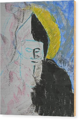 Saint Charbel Wood Print by Marwan George Khoury