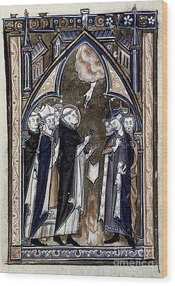 Saint Dominic Wood Print by Granger