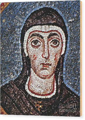 Saint Felicity (d. 203) Wood Print by Granger