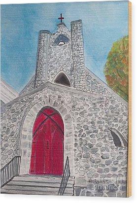 Saint James Episcopal Church Wood Print