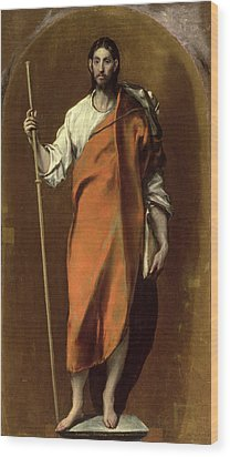 Saint James The Greater Wood Print by El Greco