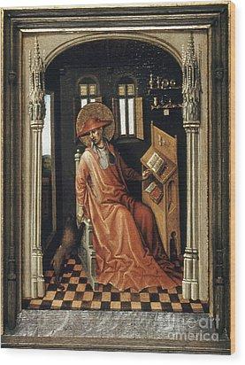 Saint Jerome (340-420) Wood Print by Granger