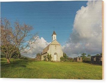 Wood Print featuring the photograph Saint Joseph's Church by Ryan Manuel