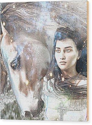 Saint Kateri Poster Wood Print