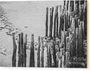 Wood Print featuring the photograph Saint Malo by Delphimages Photo Creations