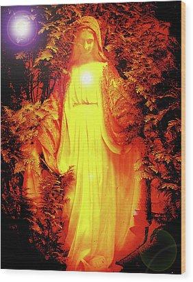 Saint Mary No. 01 Wood Print by Ramon Labusch