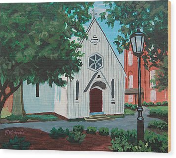 Saint Mary's Chapel Wood Print by Tommy Midyette