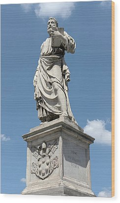 Saint Peter's Statue Wood Print by Fabrizio Ruggeri