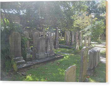 Saint Phillips Cemetery 4 Wood Print by Gordon Mooneyhan