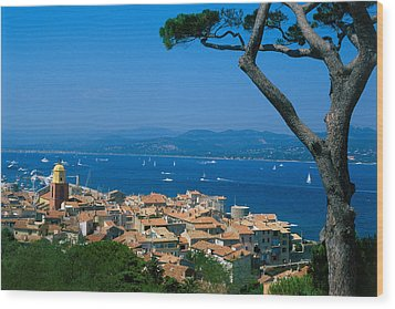 Saint-tropez - Provence Wood Print by Martial Colomb