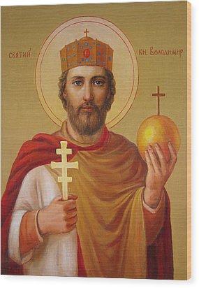 Saint Volodymyr Wood Print