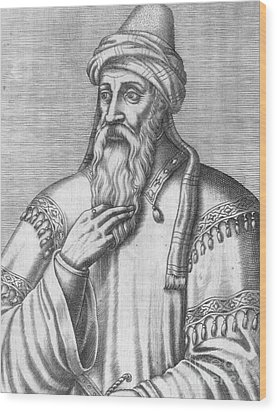 Saladin, Sultan Of Egypt And Syria Wood Print by Photo Researchers