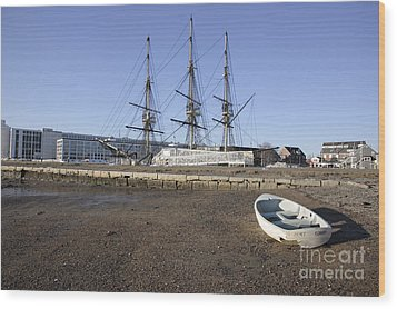 Salem Maritime National Historic Site In Salem  Massachusetts Usa Wood Print by Erin Paul Donovan