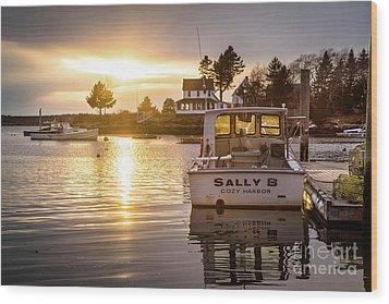 Sally B Wood Print