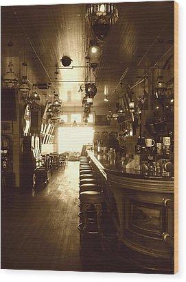 Saloon Wood Print