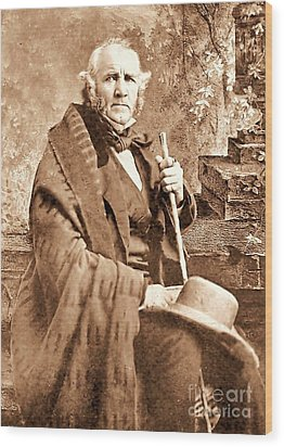 Sam Houston Wood Print by Pg Reproductions