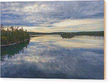 Sambro Basin I Nova Scotia Wood Print