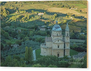 Wood Print featuring the photograph San Biagio Church by Brian Jannsen