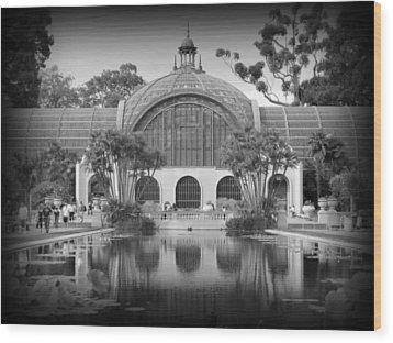 San Diego Botanical Foundation Wood Print by Karyn Robinson
