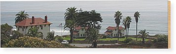 San Diego Pt Loma Lighthouse Wood Print