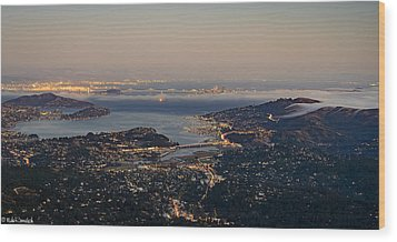 San Francisco Bay Area Wood Print