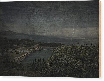 Wood Print featuring the photograph San Francisco Bay by Ryan Photography
