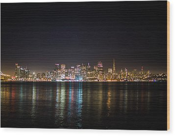 San Francisco Shot Wood Print