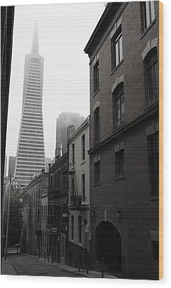 San Francisco Street Wood Print