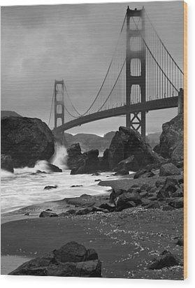 San Francisco Summer Wood Print