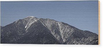 San Gabriel Mountains Wood Print