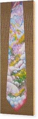 San Jacinto Spring Wood Print by David Kelly