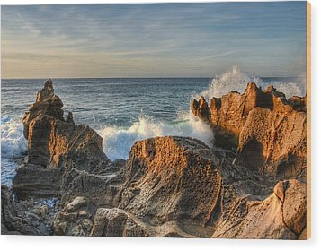 San Jose Del Cabo Early Morning Wood Print by Rich Beer