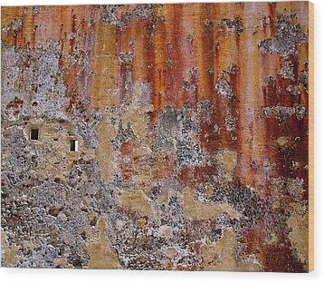 San Juan Puerto Rico 139 Wood Print by Per Lidvall