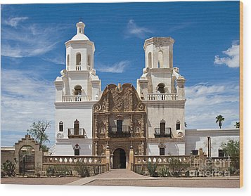 San Xavier Mission Wood Print