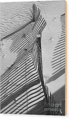 Sand And Sun Wood Print by Robert Meanor