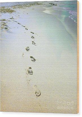 Sand Between My Toes Wood Print