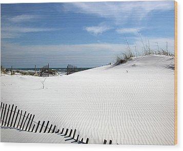Sand Dunes Dream Wood Print