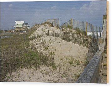 Sand Dunes II Wood Print by Betsy Knapp