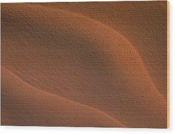 Sand In Sahara Wood Print