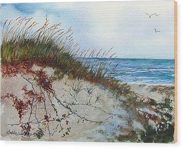 Sand Mount Wood Print